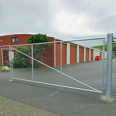 Industrial fence swing gate