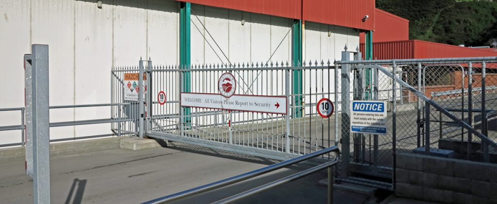 Taylor Preston's automatic main gate