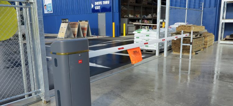 Placemakers automatic barrier arm