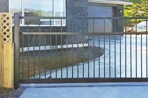 Sliding gate at Aotea
