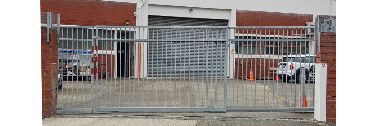 Telescopic Industrial Sliding gate